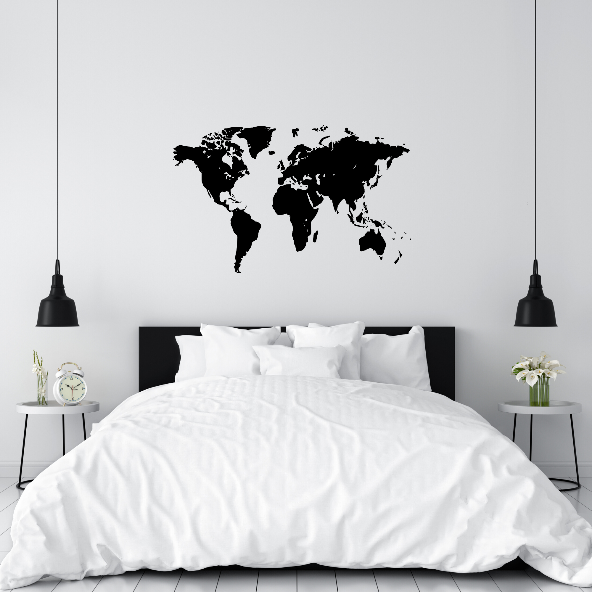 Picture of: World Map Gdirect Wall Stickers Ni