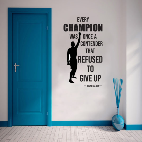 Rocky Wall Sticker